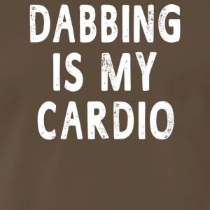 Dabbing Is My Cardio - Men's Premium T-Shirt