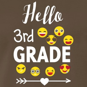 Hello 3rd Grade T Shirt Team 3rd Third Grade Teach - Men's Premium T-Shirt