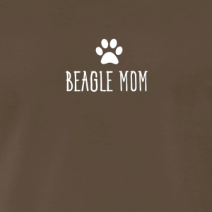 Womens Beagle Mom Cute Dog Breed Lovers Novelty T - Men's Premium T-Shirt