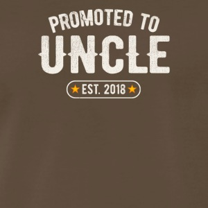 Promoted To Uncle 2018 - Men's Premium T-Shirt
