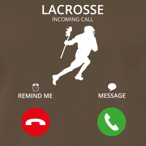 Call Mobile Anruf lacrosse - Men's Premium T-Shirt