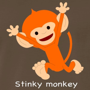 Pongo Stinky monkey - Men's Premium T-Shirt