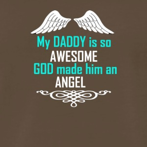 My dad is my angel - Men's Premium T-Shirt