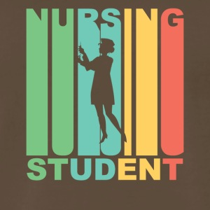 Vintage Nursing Student Graphic - Men's Premium T-Shirt
