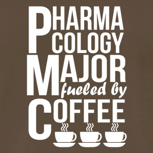 Pharmacology Major Fueled By Coffee - Men's Premium T-Shirt