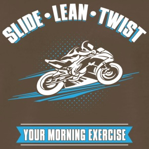 Slide Lean Twist - Men's Premium T-Shirt