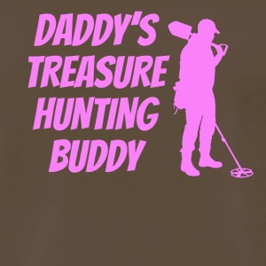 Daddy's Treasure Hunting Buddy - Men's Premium T-Shirt
