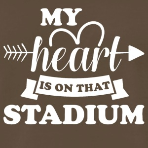 My heart is on that stadium - Men's Premium T-Shirt