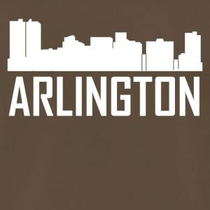Arlington Texas City Skyline - Men's Premium T-Shirt