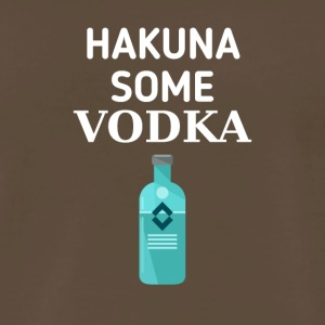 Hakuna some Vodka - Men's Premium T-Shirt