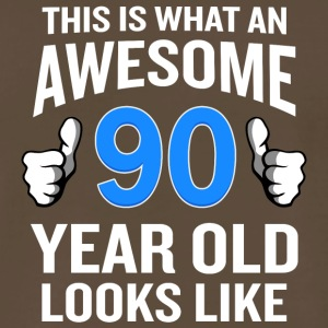 90 Year Old Birthday Funny Senior Man or Woman - Men's Premium T-Shirt