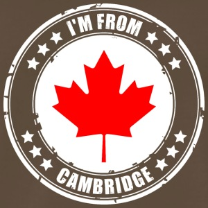 I'm from CAMBRIDGE - Men's Premium T-Shirt