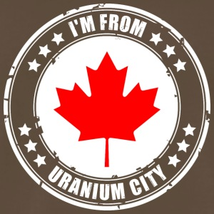 I'm from URANIUM CITY - Men's Premium T-Shirt