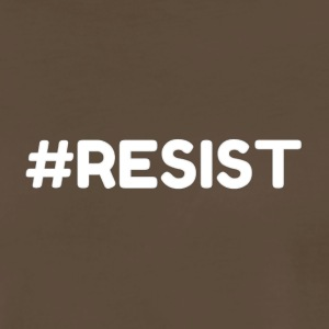 #RESIST Online Designs The Protestor - Men's Premium T-Shirt