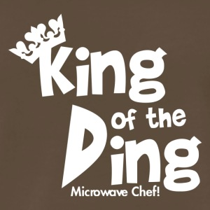 King of the Ding Microwave Chef - Men's Premium T-Shirt