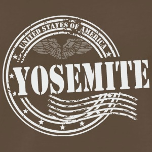 Stamp Yosemite - Men's Premium T-Shirt