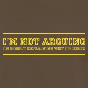 ARGUING - Men's Premium T-Shirt