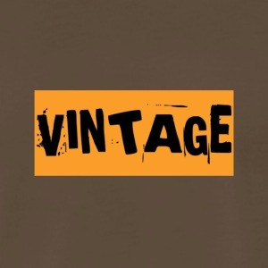 VINTAGE RETRO - Men's Premium T-Shirt