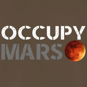occupy mars - Men's Premium T-Shirt