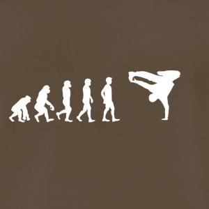 EVOLUTION breakdance bboy breakin - Men's Premium T-Shirt