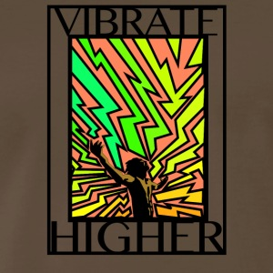 Vibrate Higher - Men's Premium T-Shirt