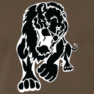 big_lion_black - Men's Premium T-Shirt
