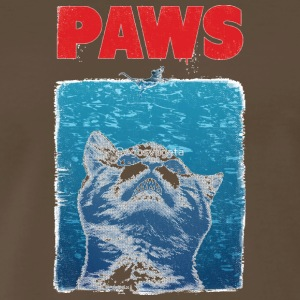 Paws Cat - Men's Premium T-Shirt