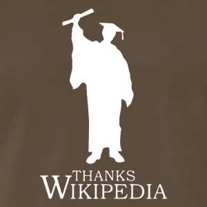 Thanks Wikipedia - Men's Premium T-Shirt