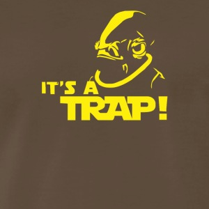Admiral Ackbar IT S A TRAP Star Wars Funny Cool De - Men's Premium T-Shirt