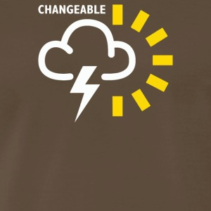 Weather Forecast Symbol - Men's Premium T-Shirt