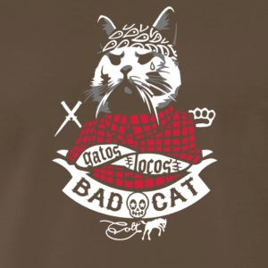 Bad Cat Gatos Locos - Men's Premium T-Shirt