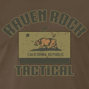 Raven Rock Tactical California - Men's Premium T-Shirt