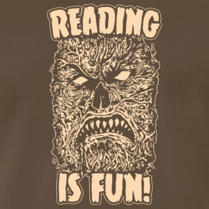 Reading Is Fun Necronomicon - Men's Premium T-Shirt
