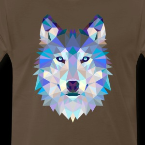 Polygon Wolf Graphic T-Shirts And Sweaters