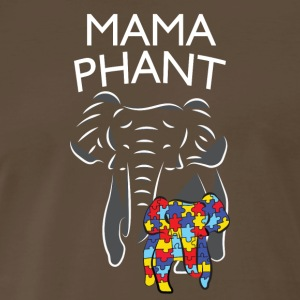 Autism Awareness Mama Elephant Baby Elephant