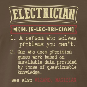 Electrician Meaning T Shirt