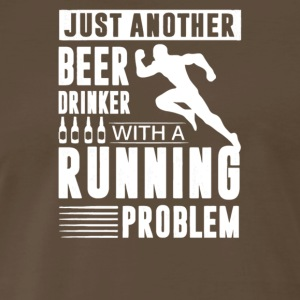 Beer Drinker With A Running Problem