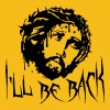 I'll Be Back jesus dornenkrone blood dead death ki - Men's Premium T-Shirt