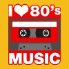 I Love 80's Music - Men's Premium T-Shirt