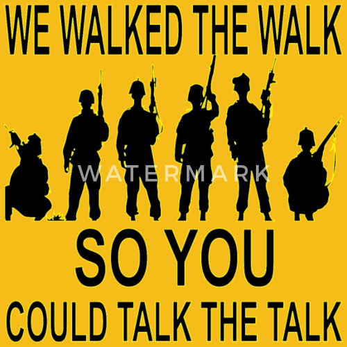 you can talk the talk can you walk the talk