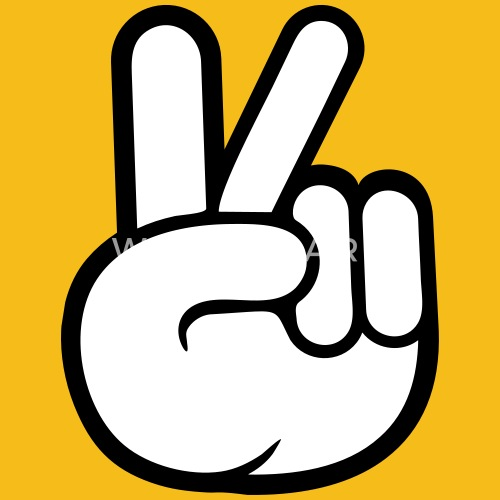 Peace Sign Hand Peace Cool By Style O Mat Spreadshirt