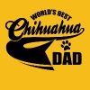chihuahua dad - Men's Premium T-Shirt