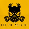 Air Pollution-Dying Light - Gas Mask - Men's Premium T-Shirt