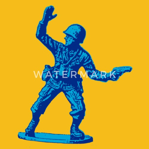 Army Toys Color : Blue toy soldier by alanraw spreadshirt