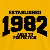 aged to perfection established 1982 - Men's Premium T-Shirt