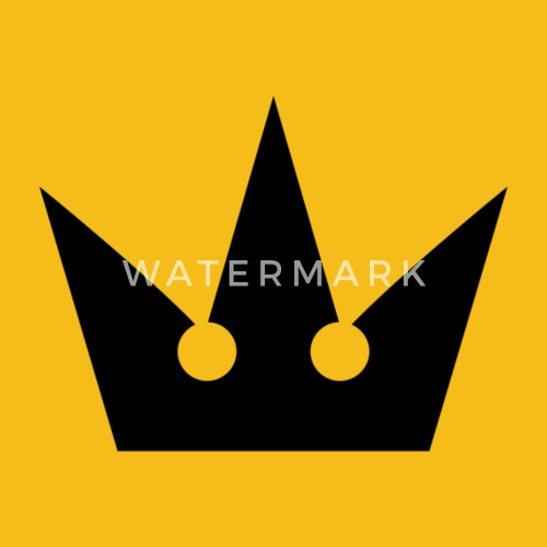 Kingdom Hearts Crown Symbol By Spreadshirt