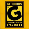 Content Rated Glorious by PC Master Race T Shirt - Men's Premium T-Shirt