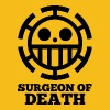 surgeon of death YELLOW s - Men's Premium T-Shirt
