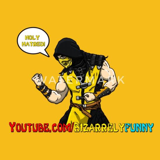 Scorpion Real Mortal Kombat Youtube Men S Premium T Shirt