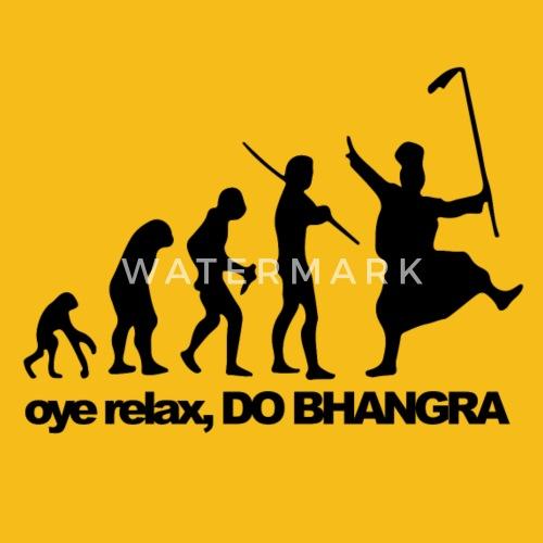 d172db6e240429 Bhangra Evolution - Men s Premium T-Shirt. Back. Back. Design